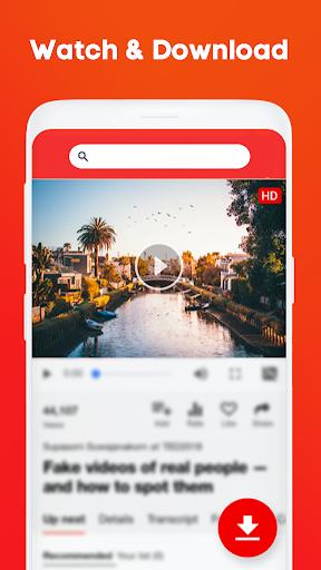 Tube Video Downloader - جميع مقاطع الفيديو تنزيل مجاني