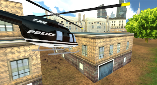 مروحية الشرطة محاكي 3D