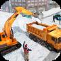 icon Snow Heavy Excavator Simulator