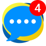 icon Messenger app - Light & All-in-One
