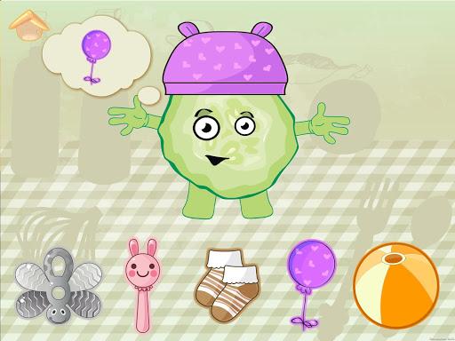 الخضار مضحك! لعبة للأطفال الرضع