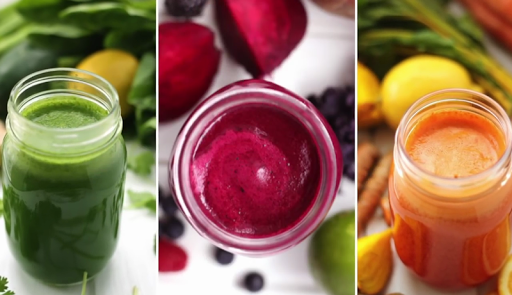 عصير أخضر لتخفيف الوزن