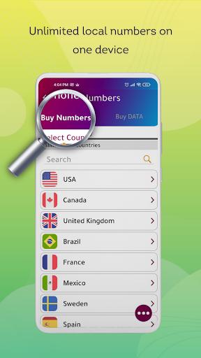 Numero eSIM: رقم الهاتف الثاني وشريحة SIM الافتراضية
