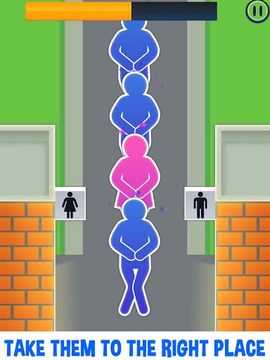 وقت المرحاض - لعبة حمام