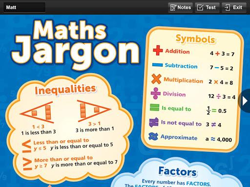 ملصق الرياضيات الأساسي للجيب